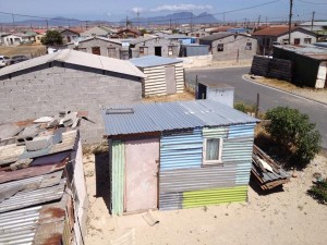 Khayelitsha, a township just 30 minutes from the Cape Town city centre