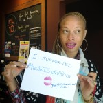 Stacey McKenzie, Ambassador of The heART of a Woman Project South Africa
