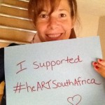Funder from Canada #heARTSouthAfrica