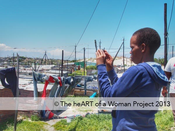 Photographing in Khayelitsha, Cape Town, South Africa
