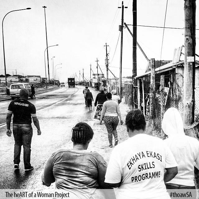 Photographing in Khayelitsha, South Africa
