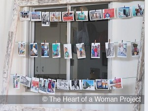 Images on display at eKhaya eKasi during the 1st anniversary exhibition.